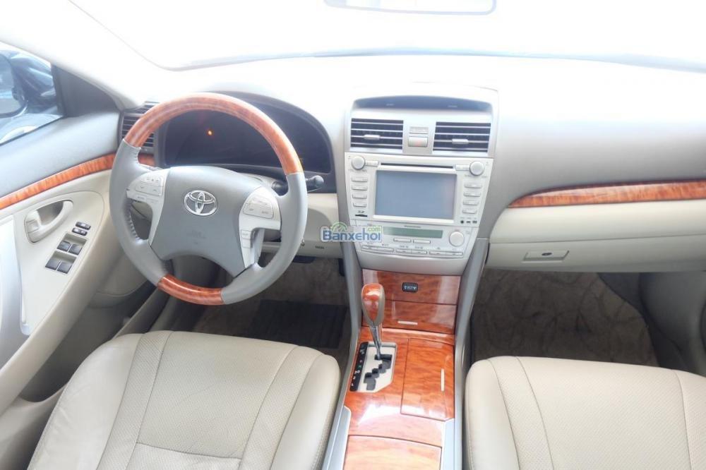 Bán xe Toyota Camry 2.0-E đời 2009, màu đen, xe nhập giá 840 tr-6