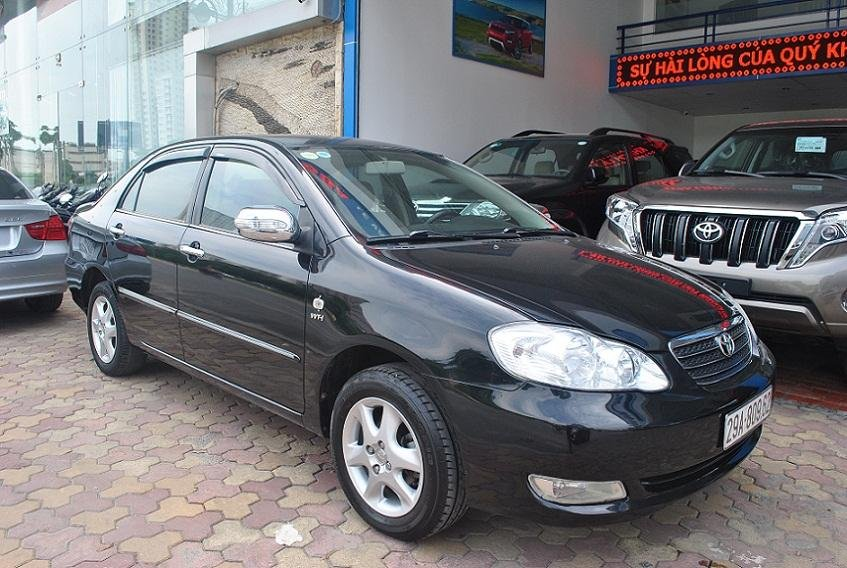 Xe Toyota Corolla Altis đời 2006, màu đen, nhập khẩu nguyên chiếc, chính chủ-1