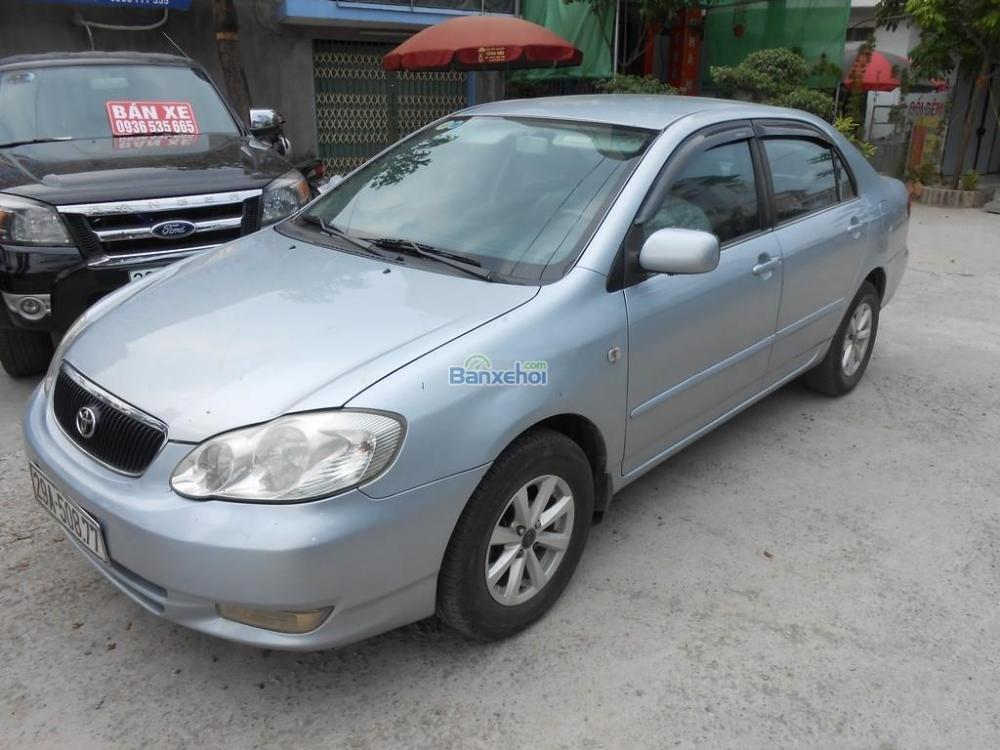 Bán ô tô Toyota Corolla Altis 1.8G đời 2002, màu bạc xe đẹp-2