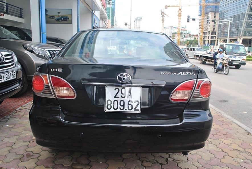 Xe Toyota Corolla Altis đời 2006, màu đen, nhập khẩu nguyên chiếc, chính chủ-5