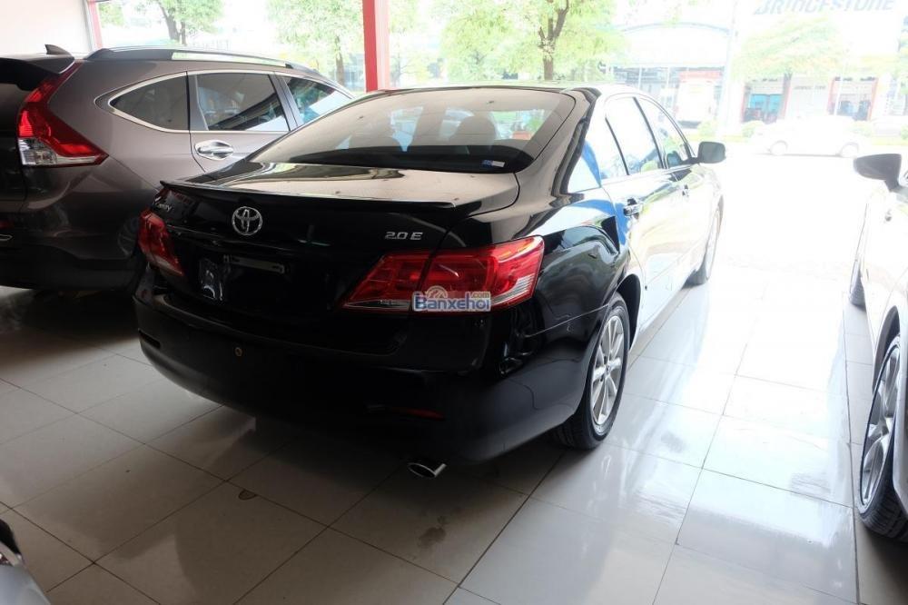 Bán xe Toyota Camry 2.0-E đời 2009, màu đen, xe nhập giá 840 tr-2