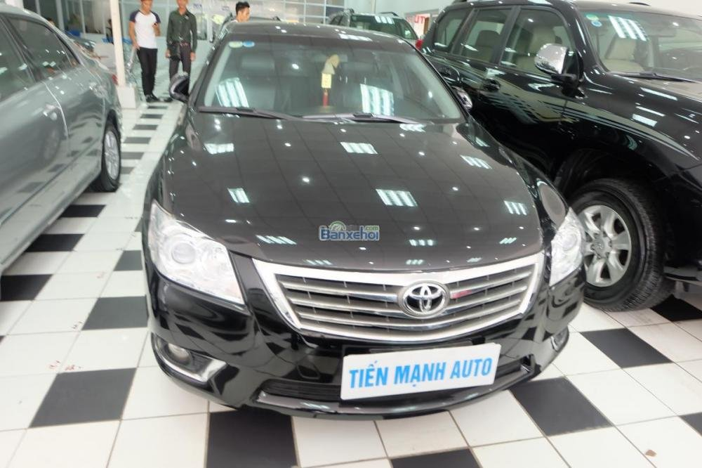Toyota Camry 2.0-E đời 2010, màu đen, xe nhập, 860 triệu-7