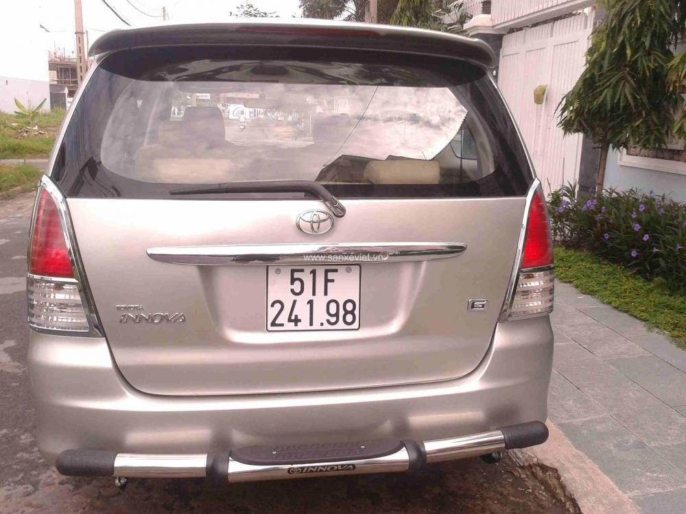 Bán xe Toyota Innova đời 2008, màu bạc, giá tốt nhanh tay liên hệ-2