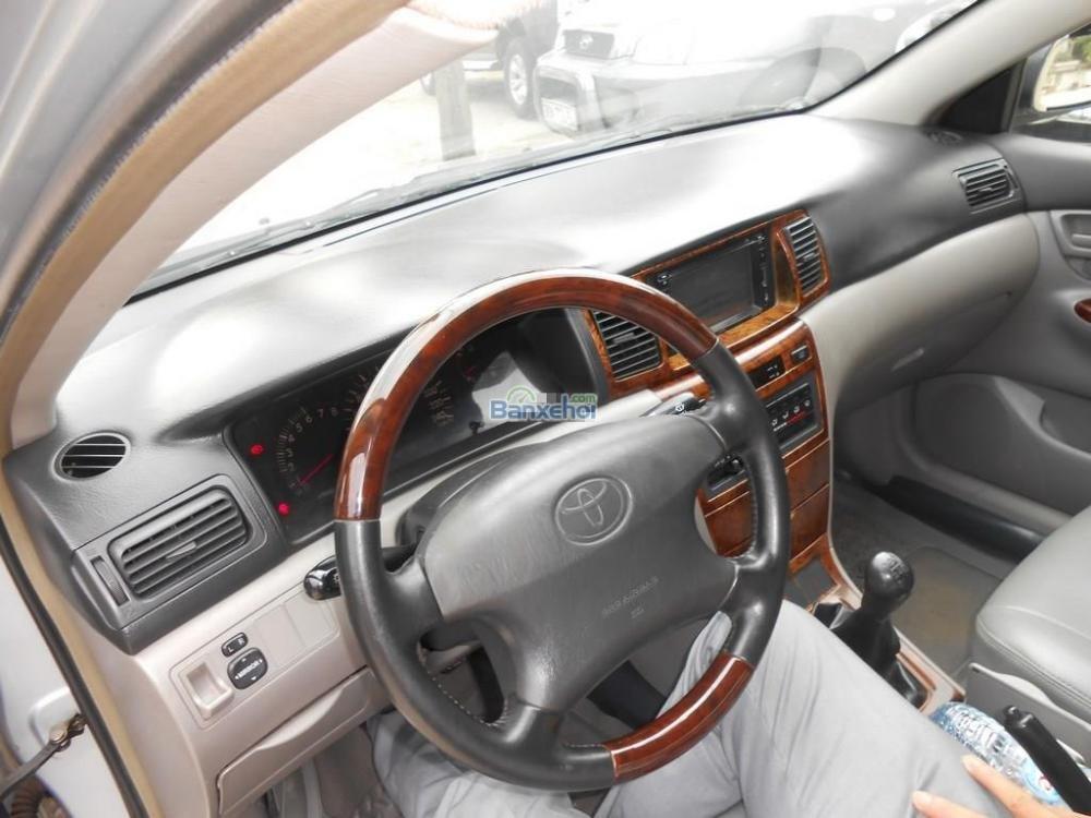 Bán ô tô Toyota Corolla Altis 1.8G đời 2002, màu bạc xe đẹp-7