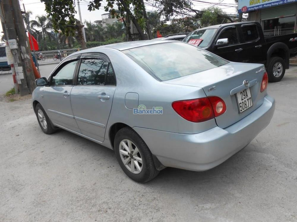 Bán ô tô Toyota Corolla Altis 1.8G đời 2002, màu bạc xe đẹp-4