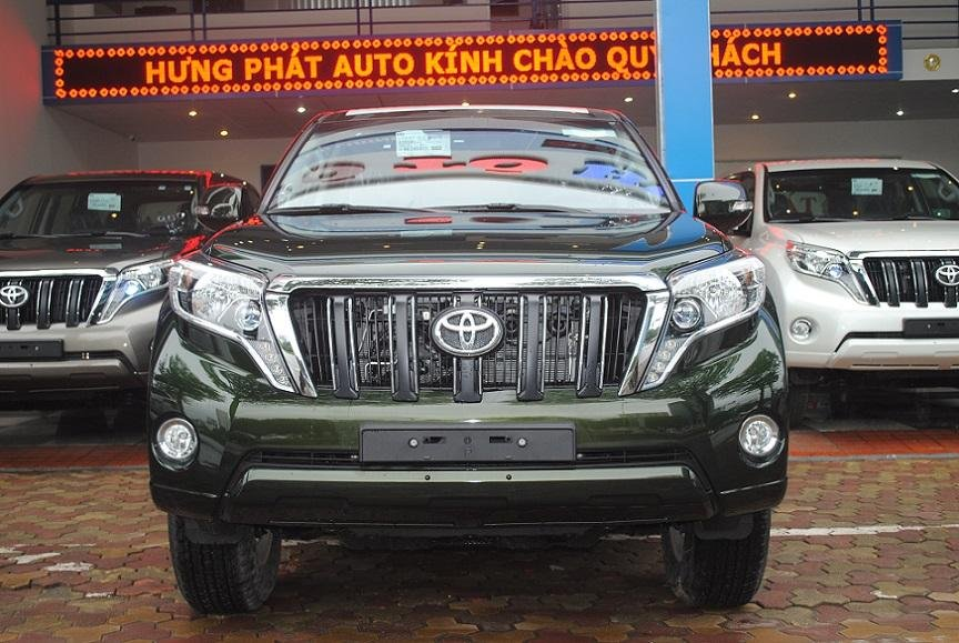 Toyota Land Cruiser Prado TXL đời 2015, nhập khẩu nguyên chiếc-0
