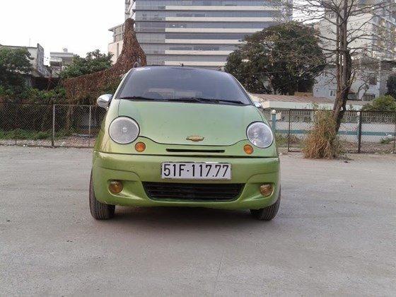 Bán xe Daewoo Matiz SE màu xanh cốm đời 2006 chính chủ BSTP số đẹp-2