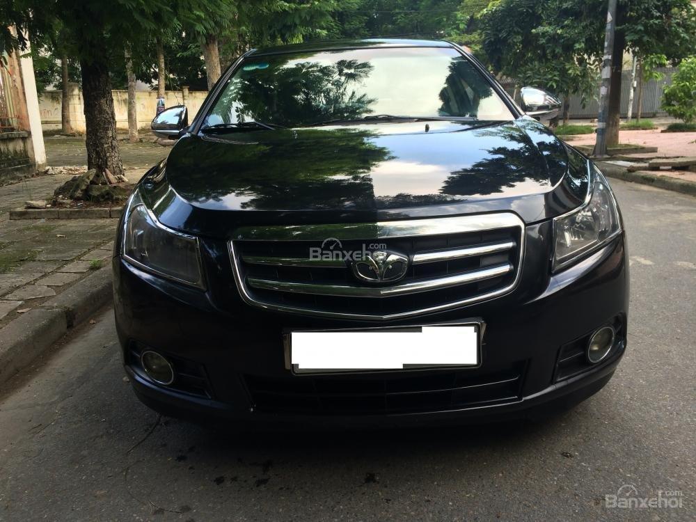 Bán xe Daewoo Lacetti SE sản xuất 2009, màu đen, nhập khẩu chính hãng số sàn-1