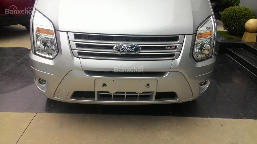 Bán Ford Transit MID 2017, màu bạc, 810 triệu-8