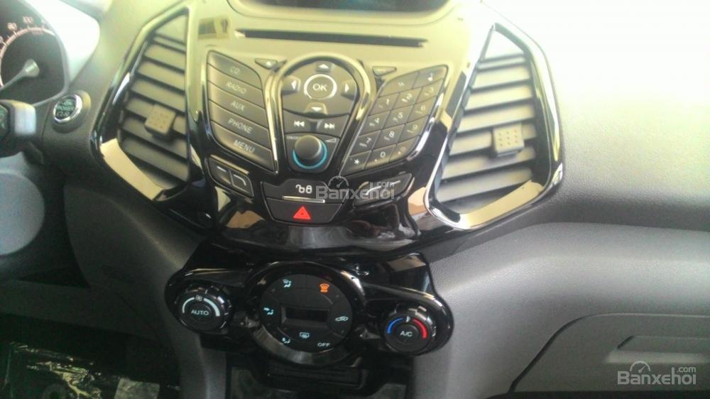 Bán xe Ford EcoSport Titanium đời 2017, màu xám, 600tr-1