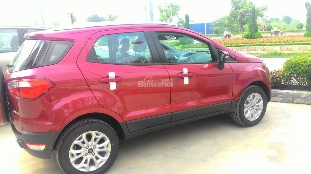 Cần bán Ford EcoSport Titanium năm 2017, màu đỏ ruby-0