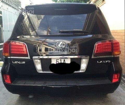 Bán ô tô Lexus LX 2008, màu đen, nhập khẩu chính hãng-1