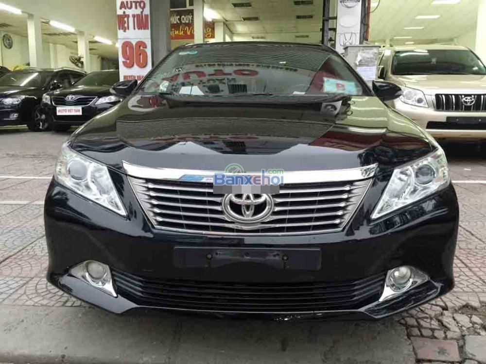 Việt Tuấn Auto bán xe Toyota Camry 2.5Q 2012. Xe tên tư nhân chính chủ màu đen-0