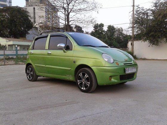 Bán xe Daewoo Matiz SE màu xanh cốm đời 2006 chính chủ BSTP số đẹp-0