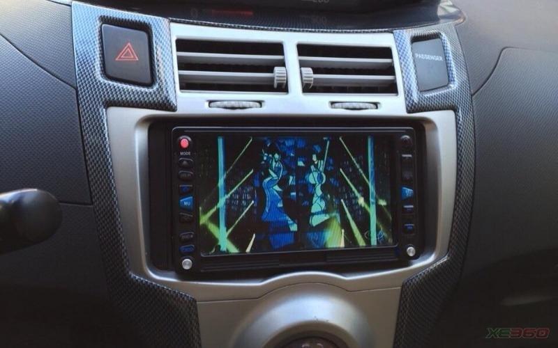 Hưng Nam Auto có bán Toyota Yaris 1.3 AT bản nhập Nhật. Xe màu đỏ cực đẹp-4