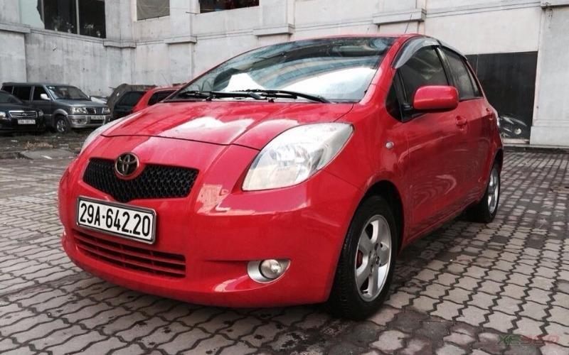 Hưng Nam Auto có bán Toyota Yaris 1.3 AT bản nhập Nhật. Xe màu đỏ cực đẹp-1