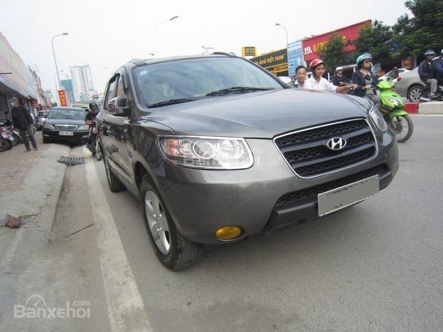 Bán ô tô Hyundai Santa Fe đời 2008, màu xám, nhập khẩu Hàn Quốc-2