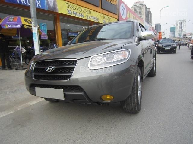 Bán ô tô Hyundai Santa Fe đời 2008, màu xám, nhập khẩu Hàn Quốc-1