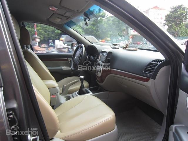 Bán ô tô Hyundai Santa Fe đời 2008, màu xám, nhập khẩu Hàn Quốc-8