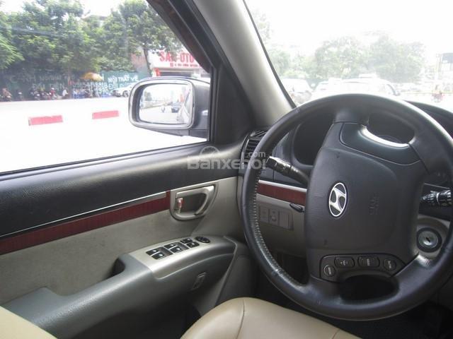 Bán ô tô Hyundai Santa Fe đời 2008, màu xám, nhập khẩu Hàn Quốc-12