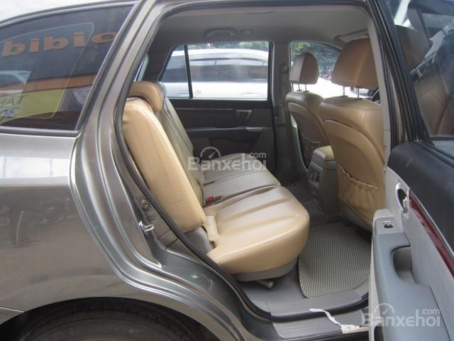 Bán ô tô Hyundai Santa Fe đời 2008, màu xám, nhập khẩu Hàn Quốc-9