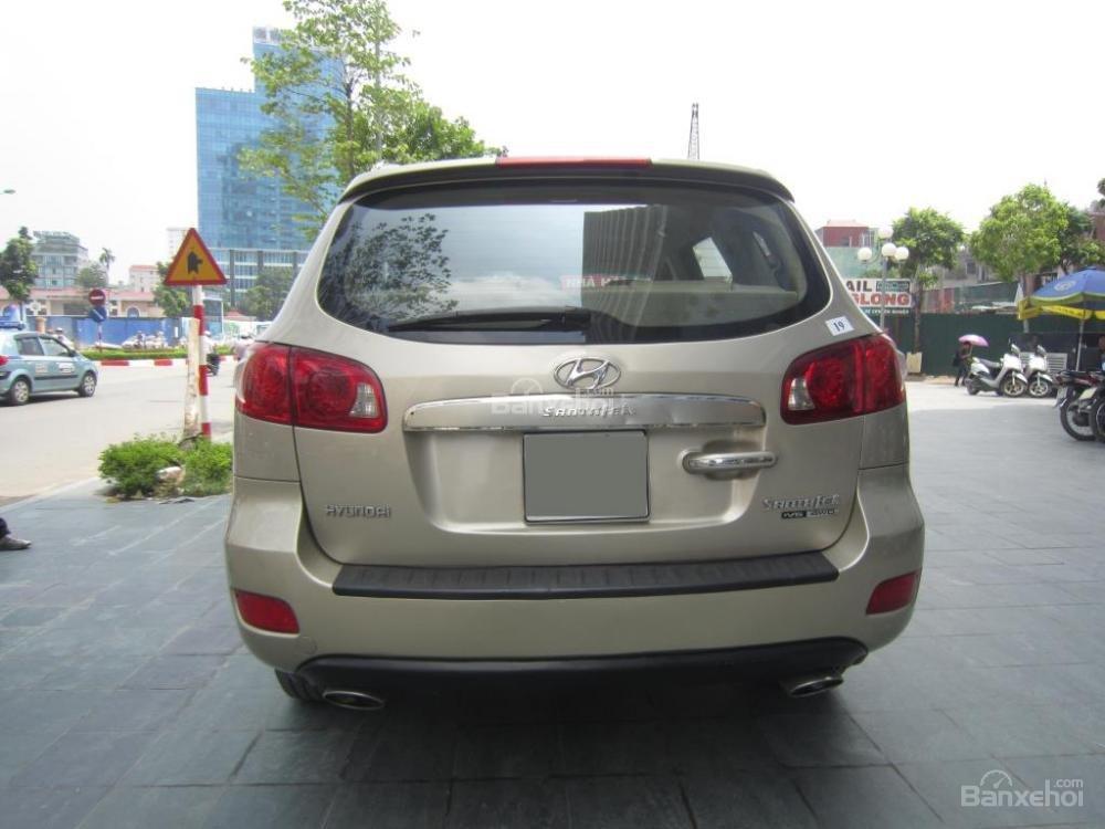 Cần bán xe Hyundai Santa Fe đời 2008, màu xám, nhập khẩu Hàn Quốc, 599tr-3