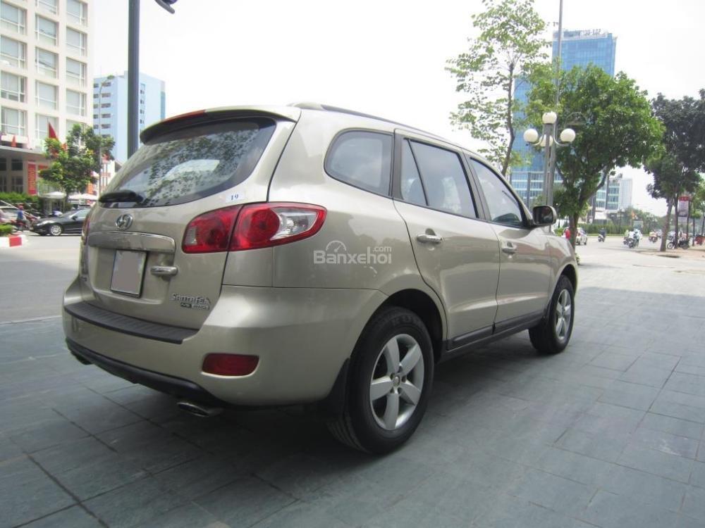 Cần bán xe Hyundai Santa Fe đời 2008, màu xám, nhập khẩu Hàn Quốc, 599tr-4