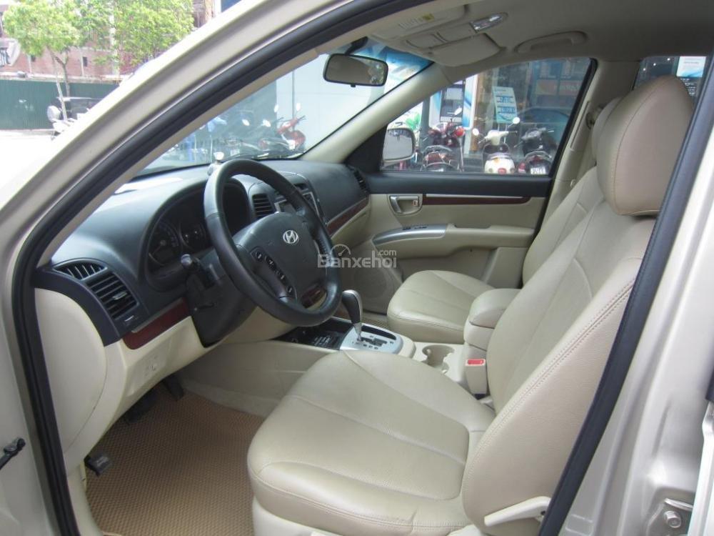 Cần bán xe Hyundai Santa Fe đời 2008, màu xám, nhập khẩu Hàn Quốc, 599tr-8