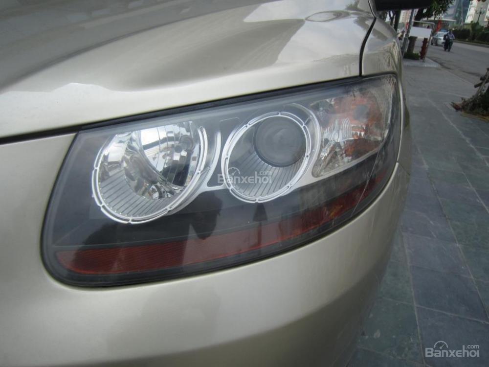 Cần bán xe Hyundai Santa Fe đời 2008, màu xám, nhập khẩu Hàn Quốc, 599tr-5