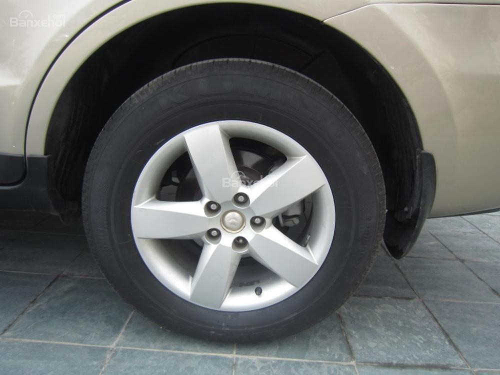 Cần bán xe Hyundai Santa Fe đời 2008, màu xám, nhập khẩu Hàn Quốc, 599tr-7