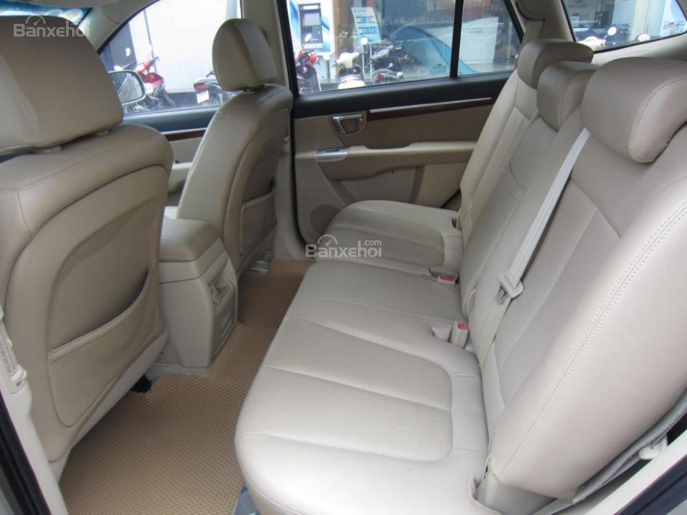 Cần bán xe Hyundai Santa Fe đời 2008, màu xám, nhập khẩu Hàn Quốc, 599tr-10