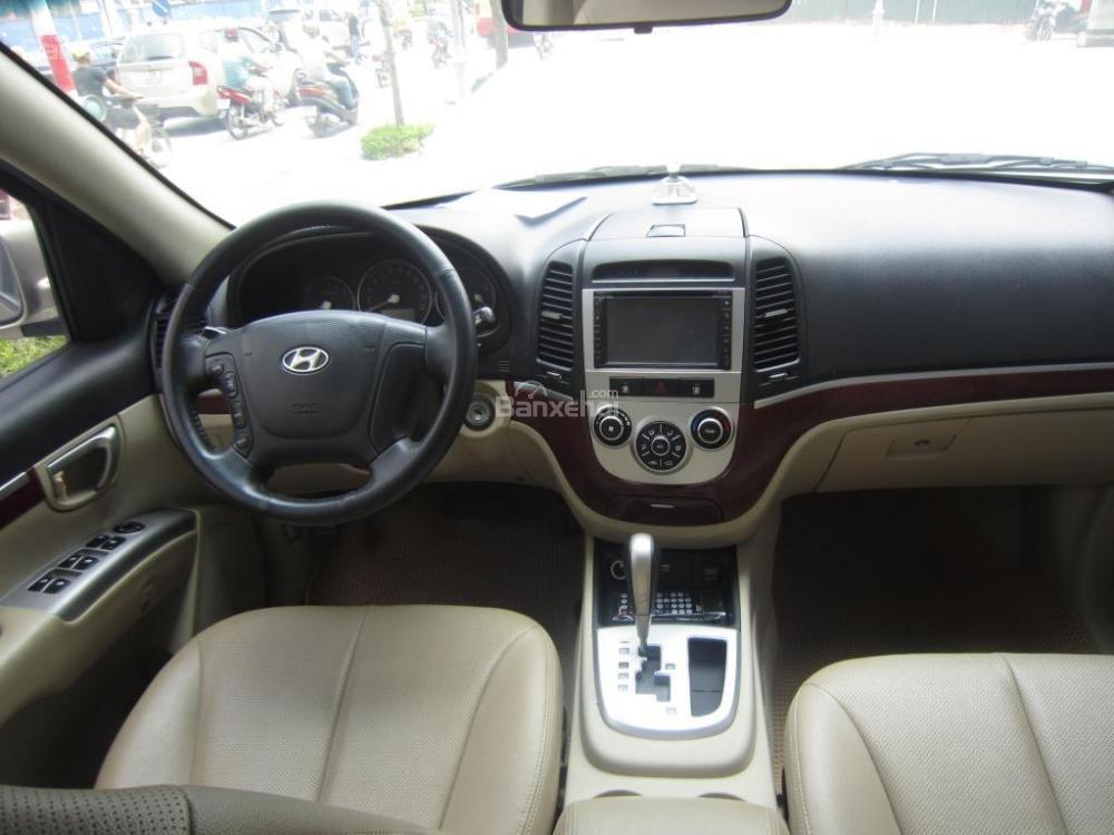 Cần bán xe Hyundai Santa Fe đời 2008, màu xám, nhập khẩu Hàn Quốc, 599tr-11