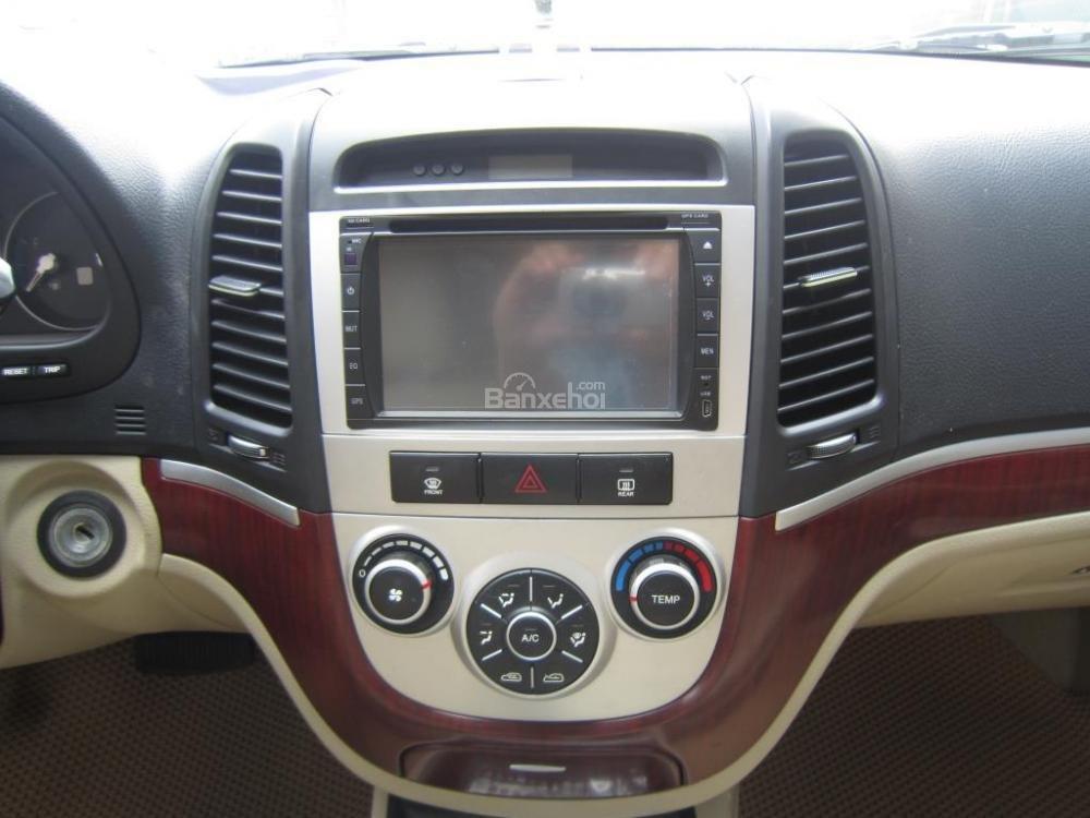 Cần bán xe Hyundai Santa Fe đời 2008, màu xám, nhập khẩu Hàn Quốc, 599tr-13