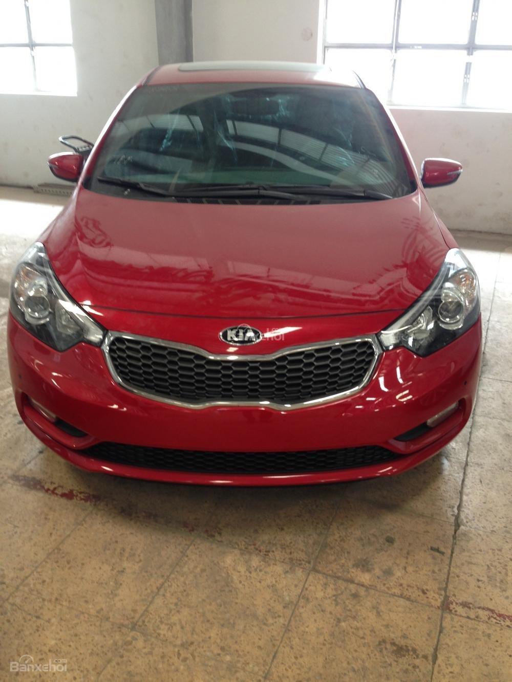 Bán ô tô Kia K3 1.6 đời 2015, màu đỏ, giá tốt, hỗ trợ trả góp 70%-0