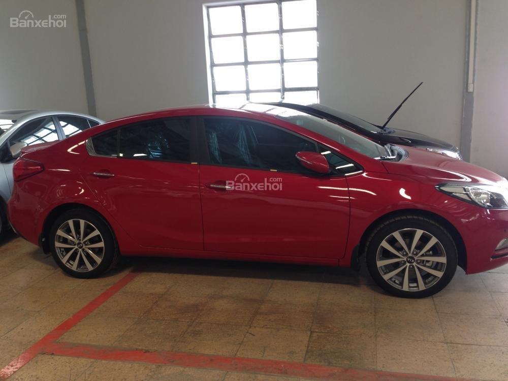 Bán ô tô Kia K3 1.6 đời 2015, màu đỏ, giá tốt, hỗ trợ trả góp 70%-2