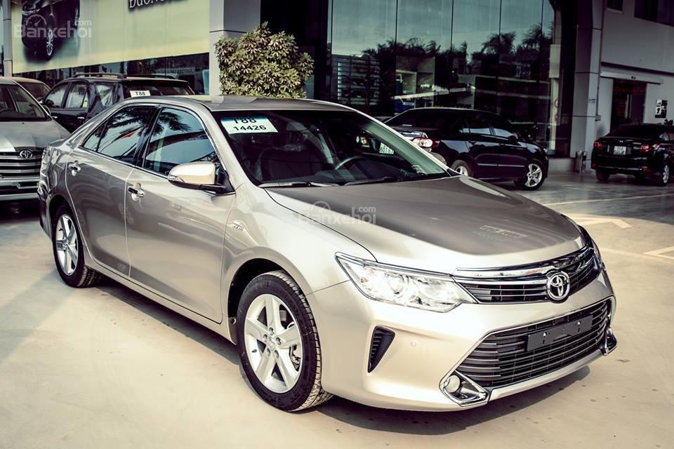 Toyota Camry 2.5G mới nhất đủ màu khuyến mãi cực sốc tại Toyota Hùng Vương dịp cuối năm giao ngay-2