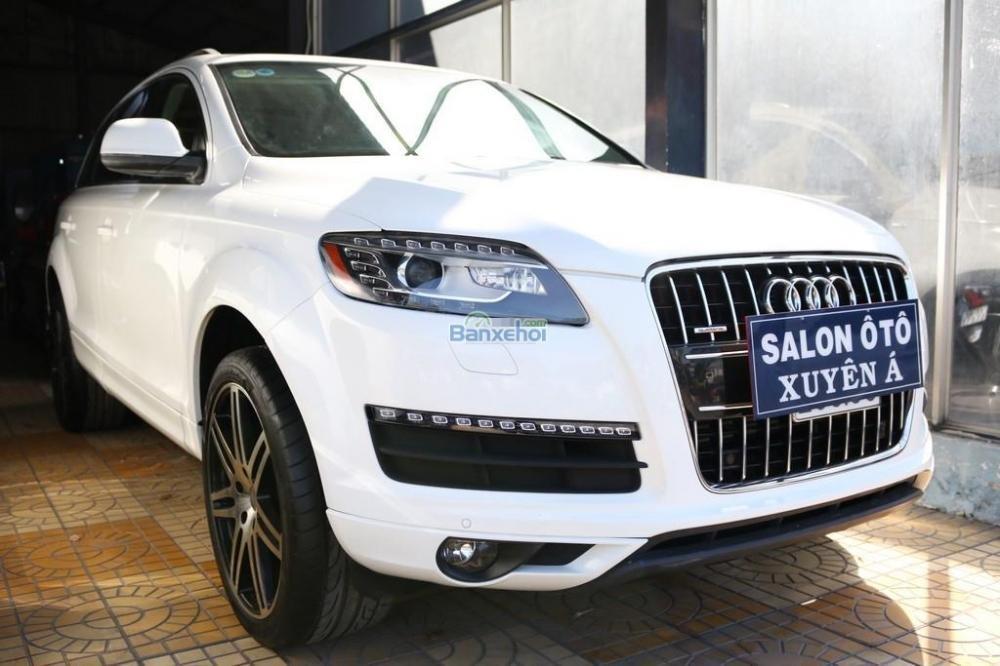 Cần bán xe Audi Q7 3-6L-Sline sản xuất 2010, màu trắng, xe nhập-1