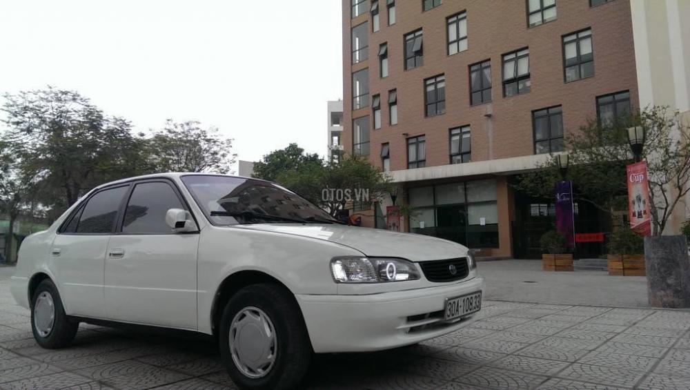 Toyota Corolla đời 2001, màu trắng, giá chỉ 230 triệu-1