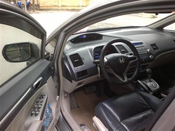 Cần bán lại xe Honda Civic 2.0AT đời 2009, màu xám, chính chủ-3