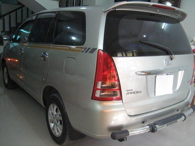 Bán xe Toyota Innova 2008, màu bạc, nhập khẩu, xe gia đình giá cạnh tranh nhanh tay liên hệ-1
