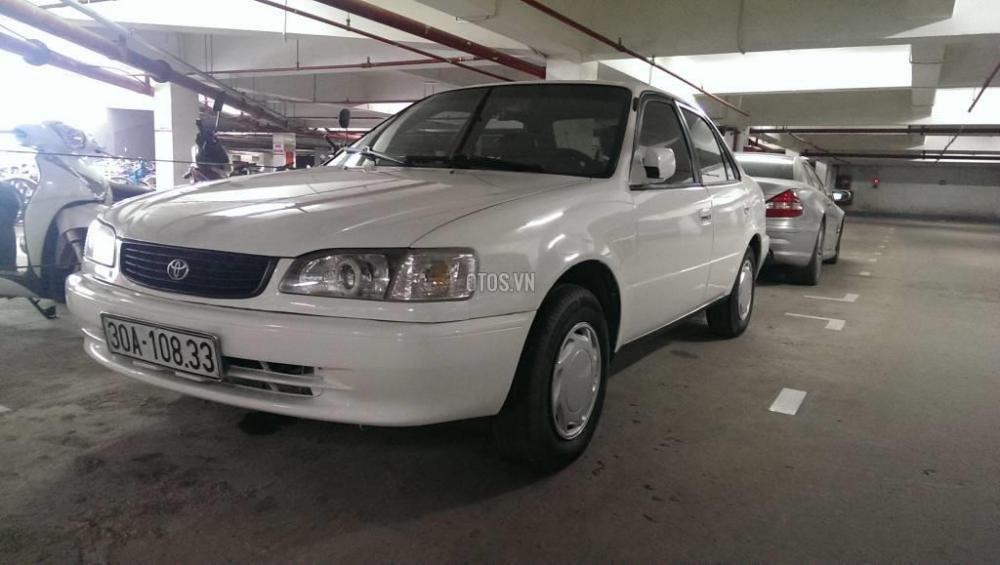 Toyota Corolla đời 2001, màu trắng, giá chỉ 230 triệu-3
