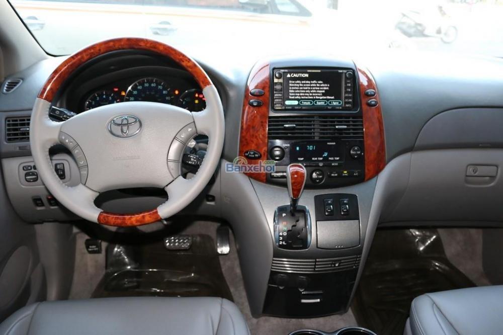 Toyota Sienna XLE-Limited-7-Passenger đời 2006, màu trắng, nhập khẩu-10