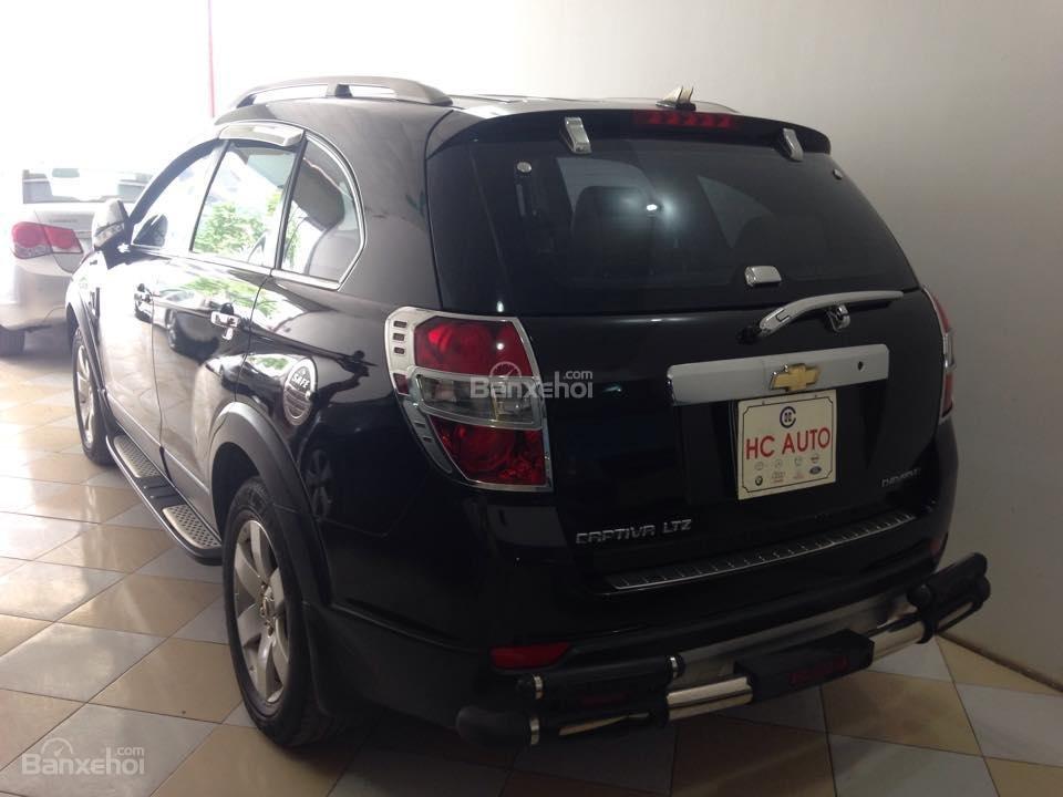 Bán Chevrolet Captiva LTZ sản xuất 2007, màu đen số tự động-4