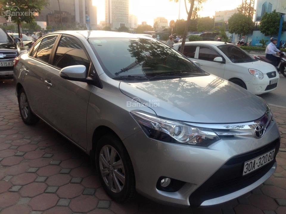 Bán xe Toyota Vios G đời 2014, màu bạc số tự động, 655 triệu-0