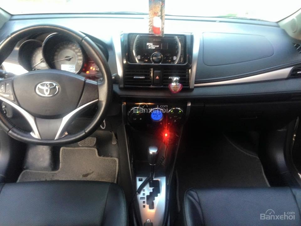 Bán xe Toyota Vios G đời 2014, màu bạc số tự động, 655 triệu-1