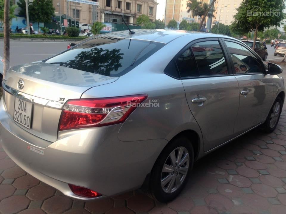 Bán xe Toyota Vios G đời 2014, màu bạc số tự động, 655 triệu-2