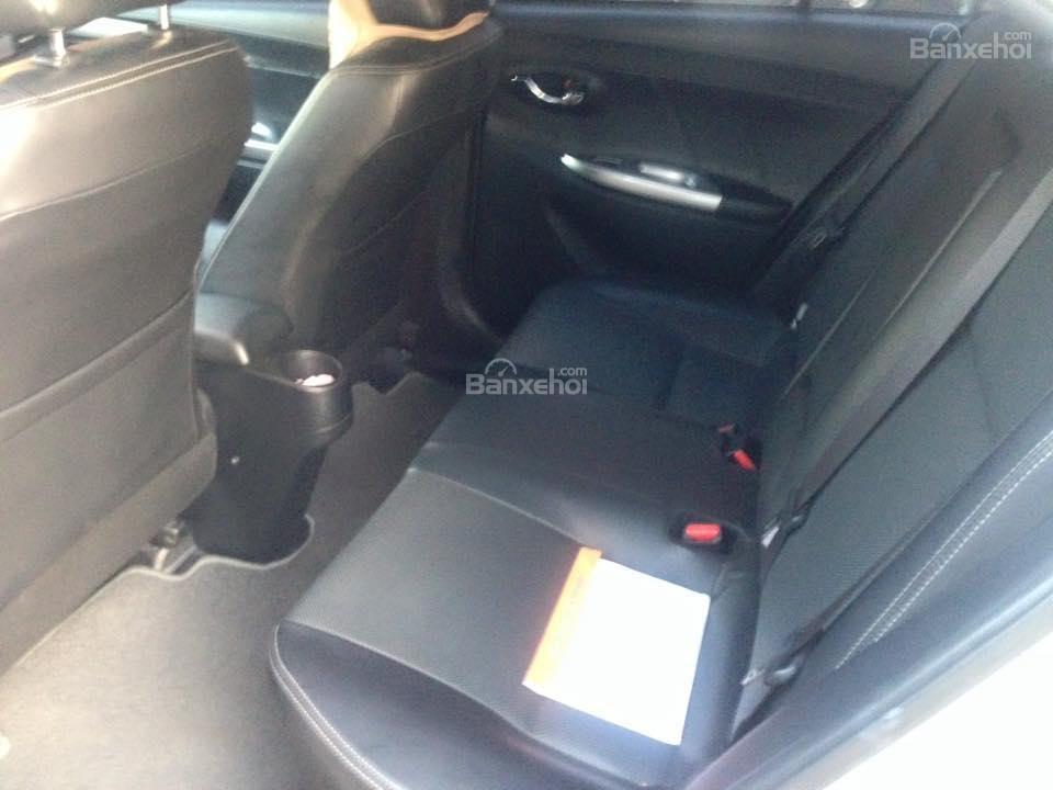 Bán xe Toyota Vios G đời 2014, màu bạc số tự động, 655 triệu-4