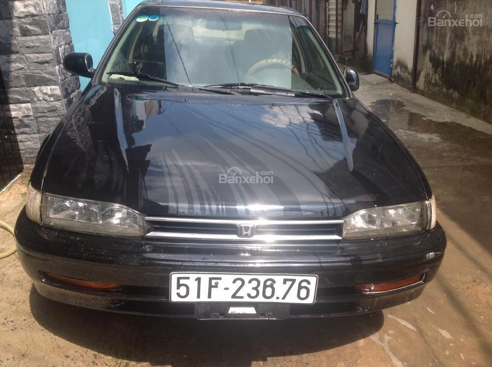 Cần bán xe Honda Accord EX đời 1992, màu đen, xe nhập-0