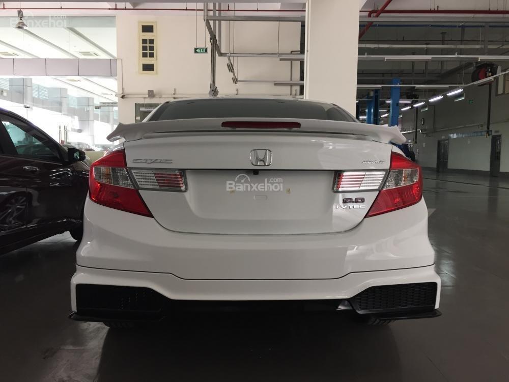 Cần bán xe Honda Civic Modulo 2.0 AT đời 2015, màu trắng full option -5