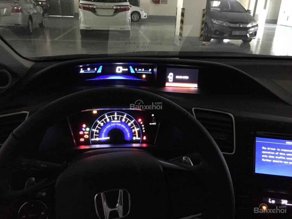 Cần bán xe Honda Civic Modulo 2.0 AT đời 2015, màu trắng full option -6
